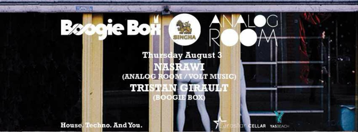 Boogie Box meets Analog Room