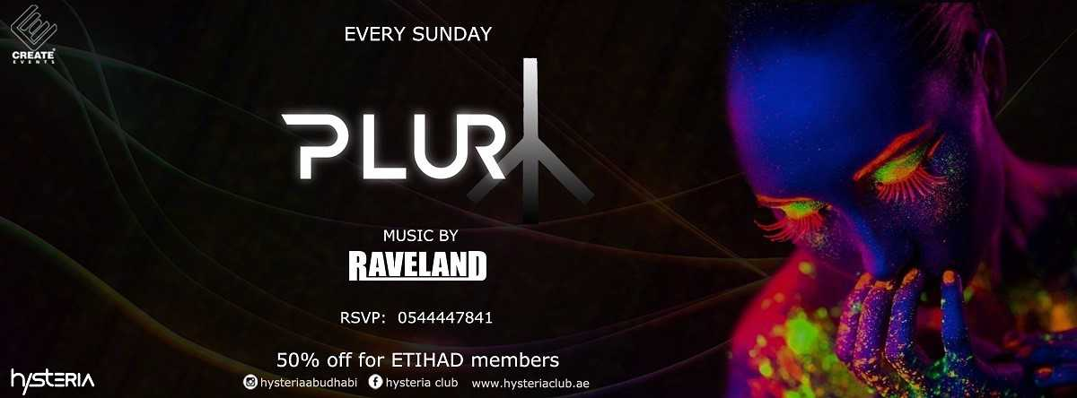 PLUR Party @ Hysteria