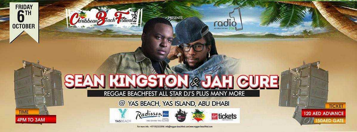 Sean Kingston & Jah Cure Live @ Caribbean Beach Festival