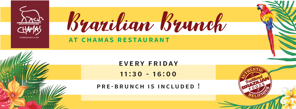 Brazilian Brunch @ Chamas
