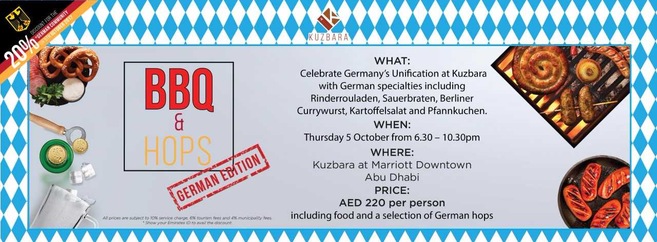 BBQ & Hops – German Edition @ Kuzbara
