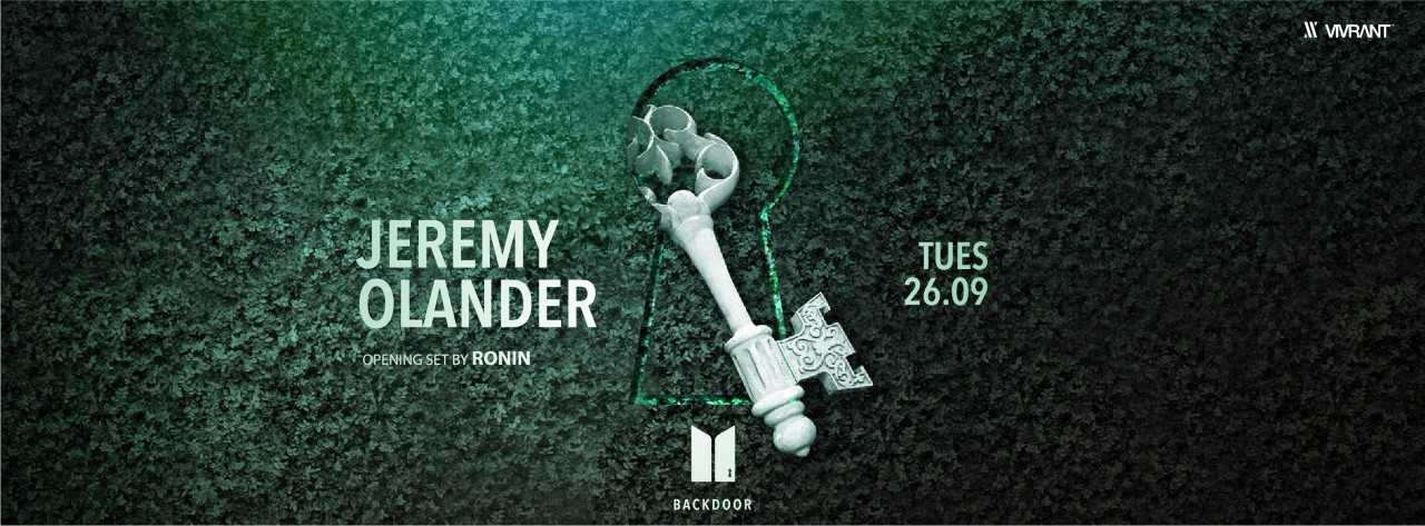 Unlock the Backdoor with Jeremy Olander @ MAD