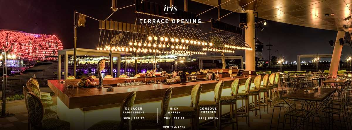 Re Opening of Iris Outdoors