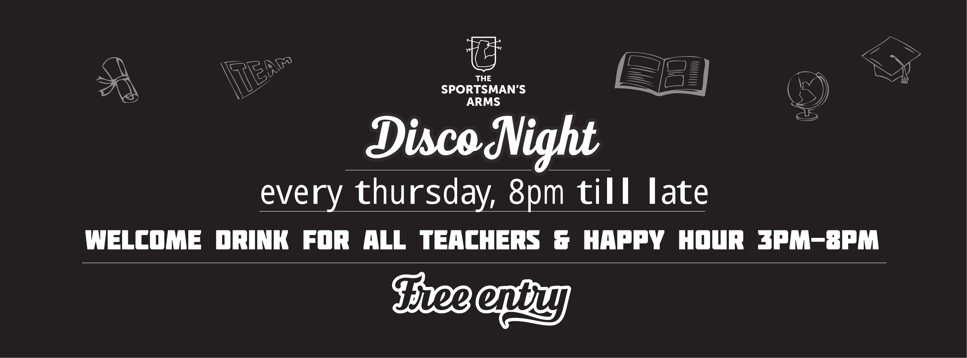 Disco Night @ The Sportsmans Arms