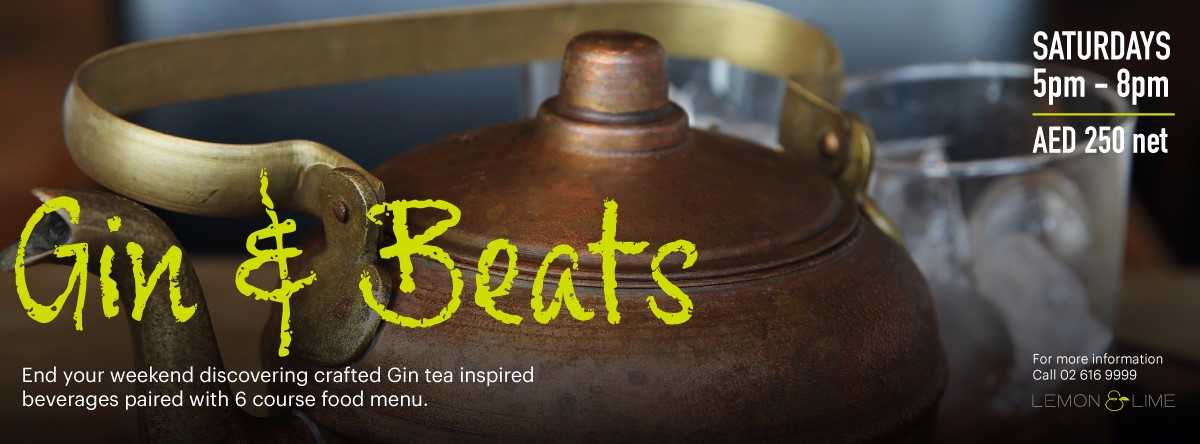 Gin & Beats @ Lemon & Lime