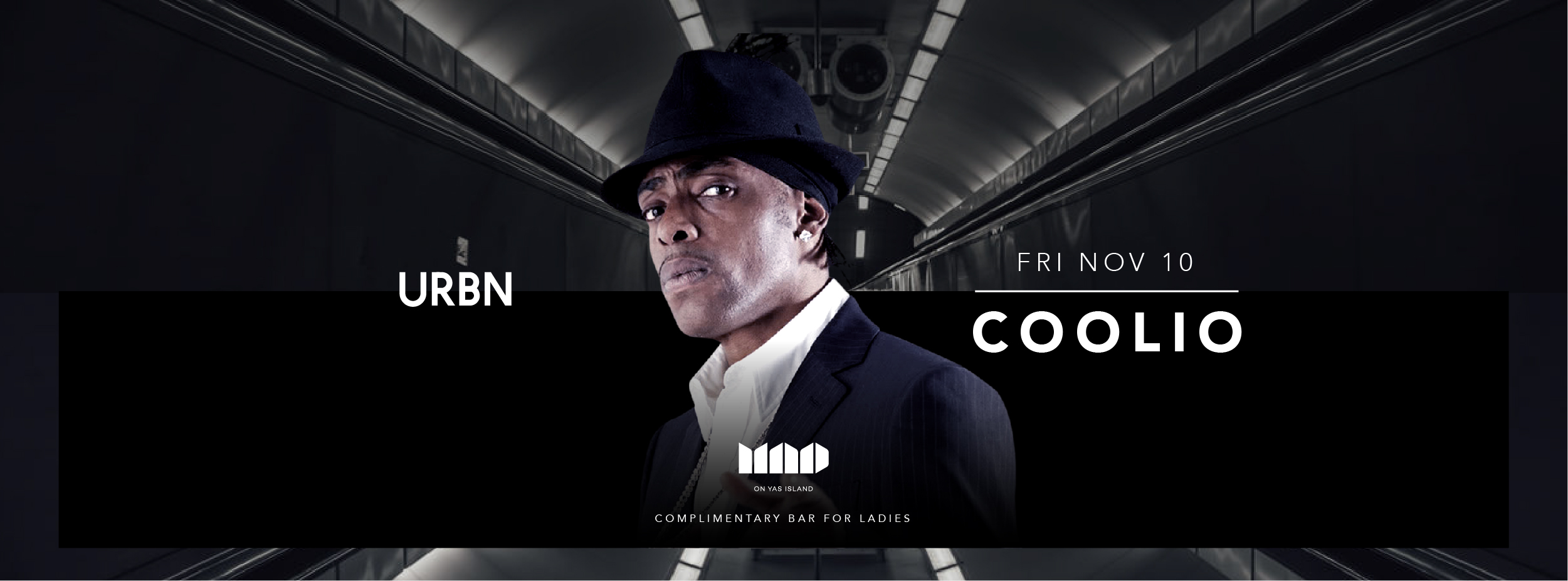 Coolio @ Mad on Yas Island