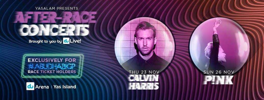 Calvin Harris - Yasalam After-Race Concerts