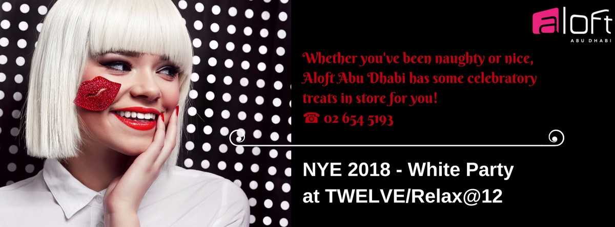 NYE 2018 White Party @ TWELVE