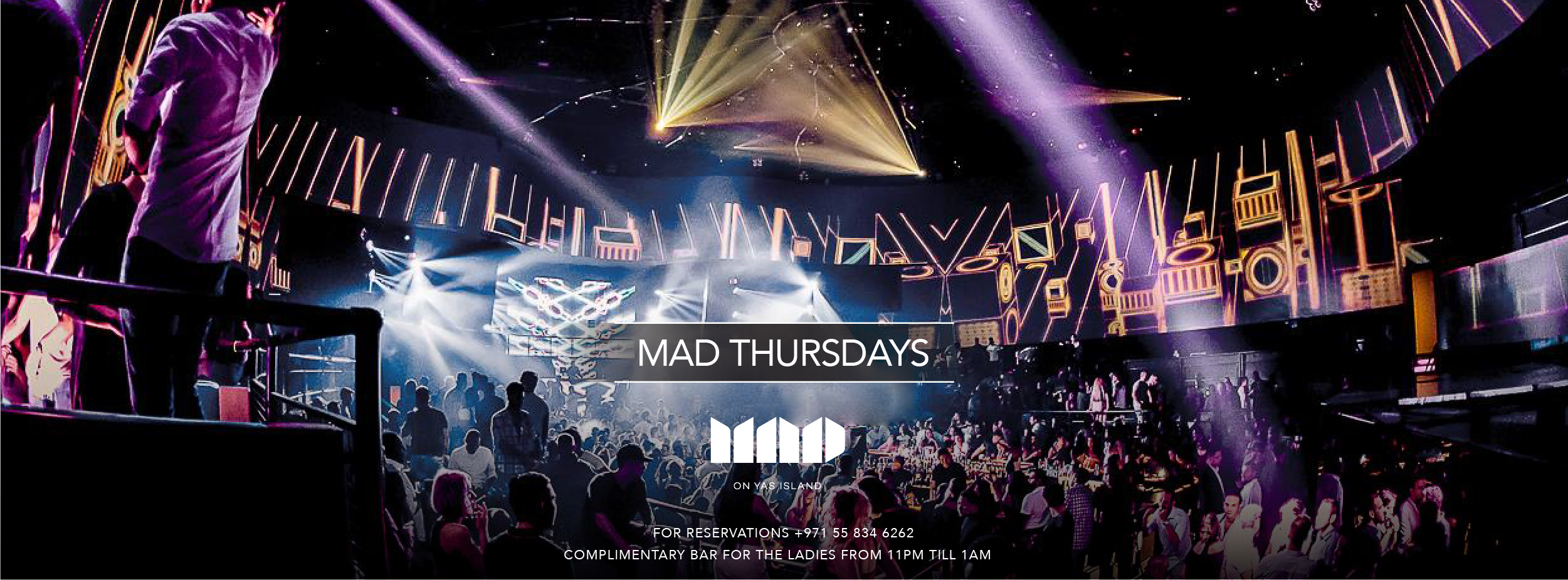 MAD Thursdays @ MAD Yas Island