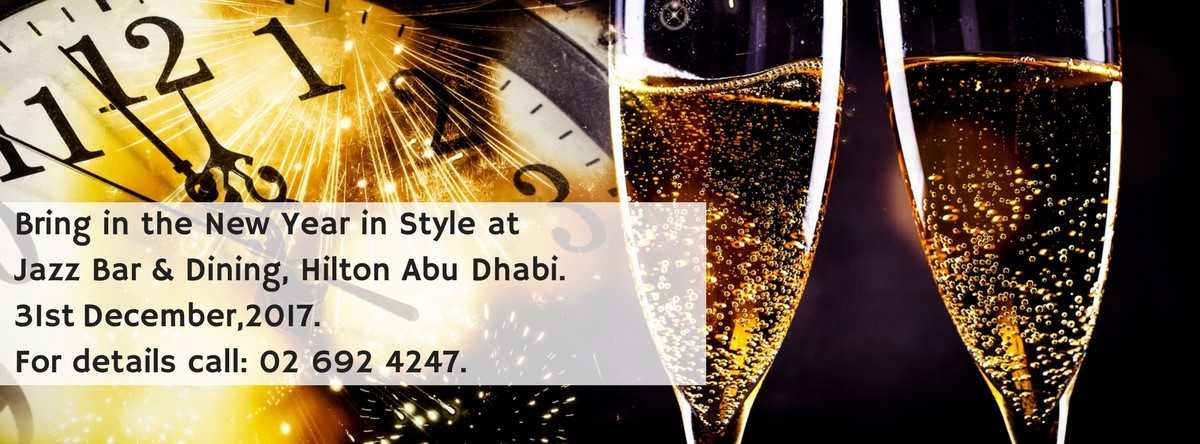 NYE celebrations @ Jazz Bar & Dining