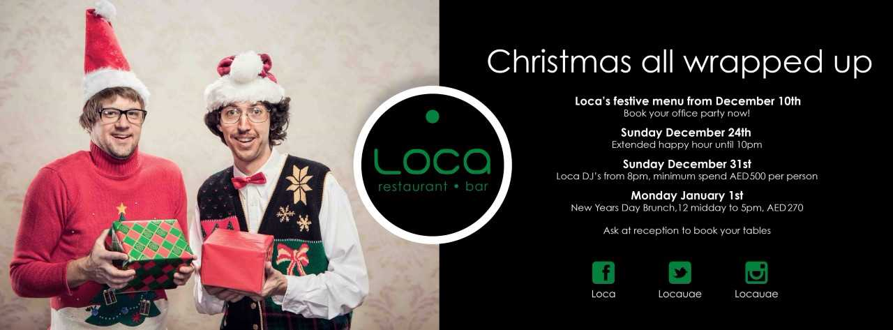 Festive Season in true Mexican-style @ Loca