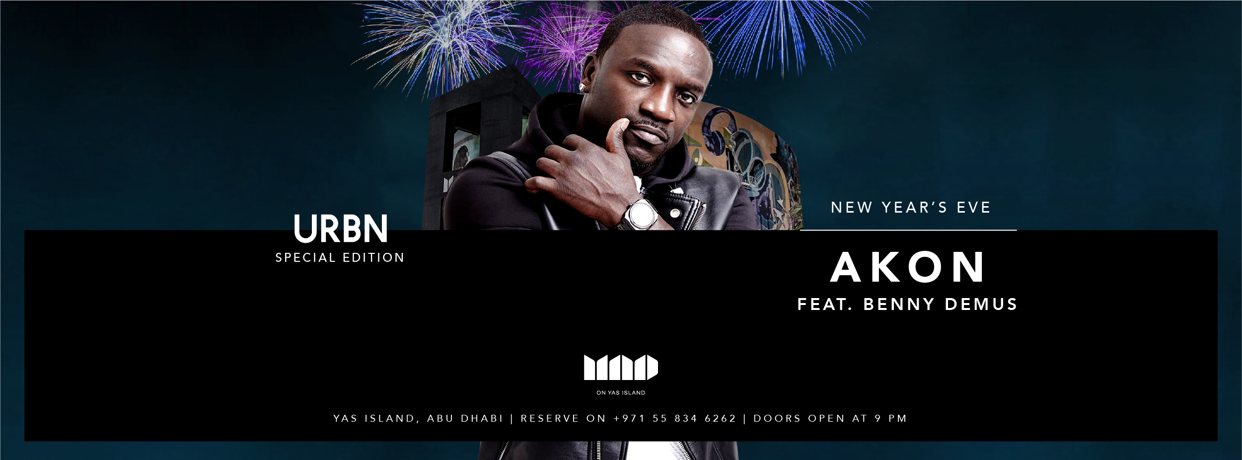 AKON for NYE @ MAD