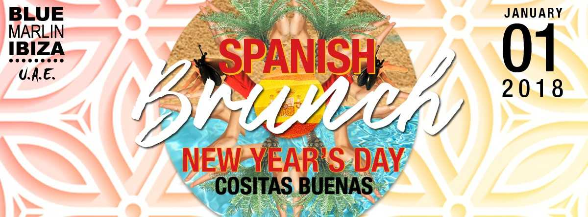 New Year's Day Spanish Brunch with Cositas Buenas at Blue Marlin Ibiza UAE
