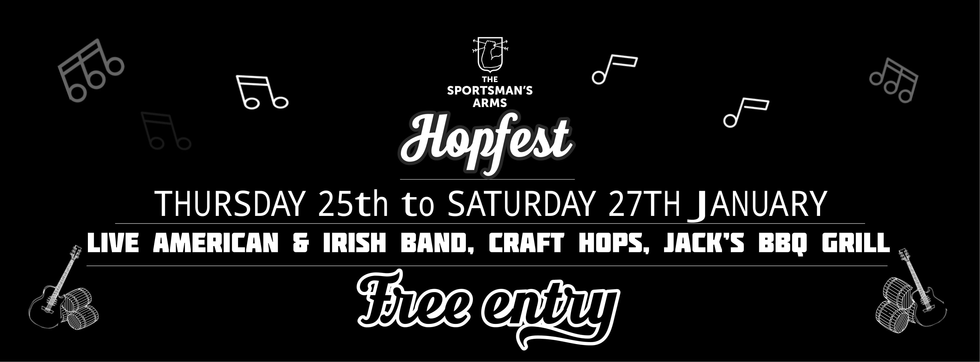 Hopfest @ The Sportsman's Arms