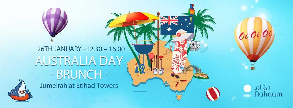 Australia Day Brunch @ Jumeirah at Etihad Towers
