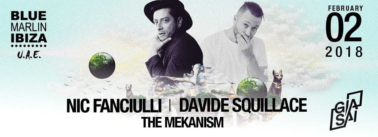 Davide Squillace, Nic Fanciulli, The Mekanism with Gia Sai