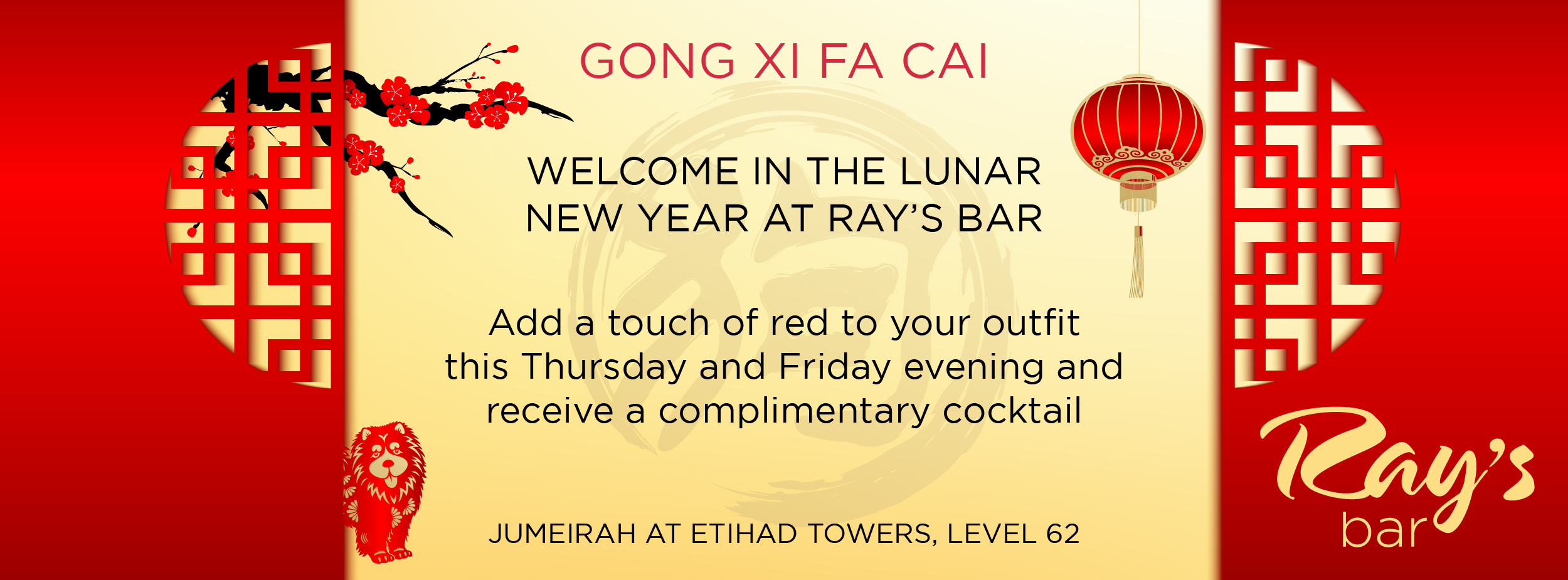 Chinese New Year @ Ray's Bar