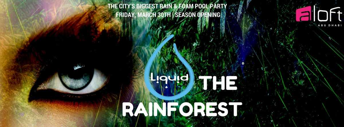 The RAINforest | Liquid Rain & Foam POOL PARTY @Aloft