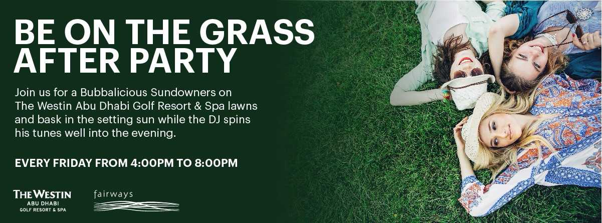 Be on the Grass After Party @ Westin