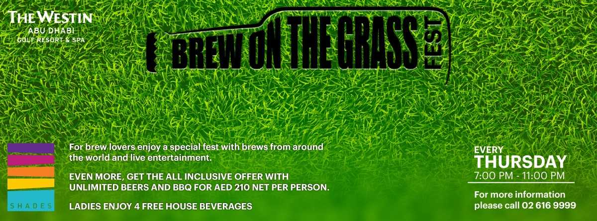 Brew on the Grass fest @ Westin
