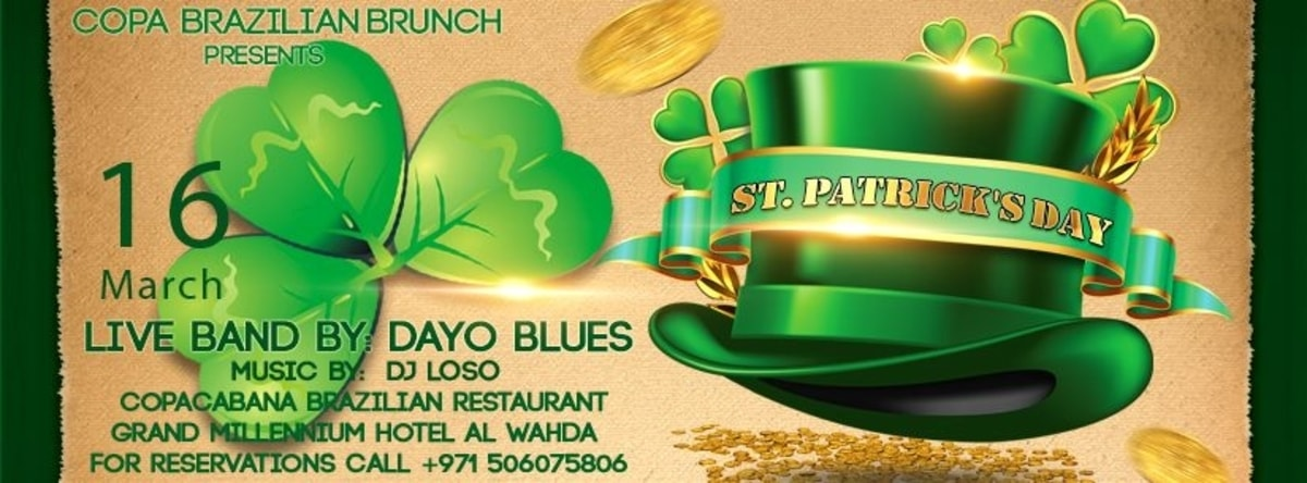St Patrick's Day Brunch @ Copacabana Brazilian