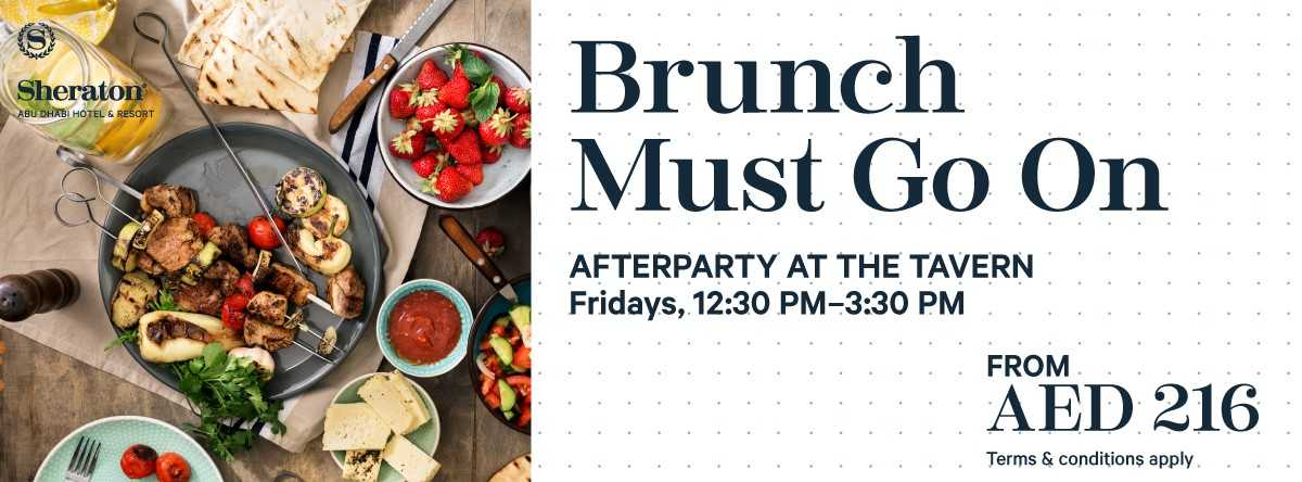 "Brunch Afterparty ""Brunch Must Go On"" @ Sheraton"