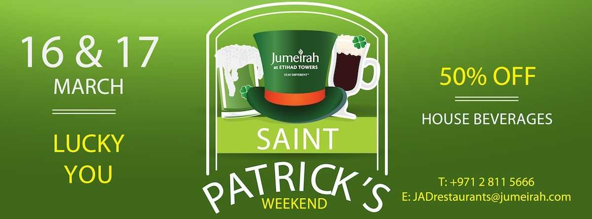 Saint Patrick's @ Jumeirah at Etihad Towers
