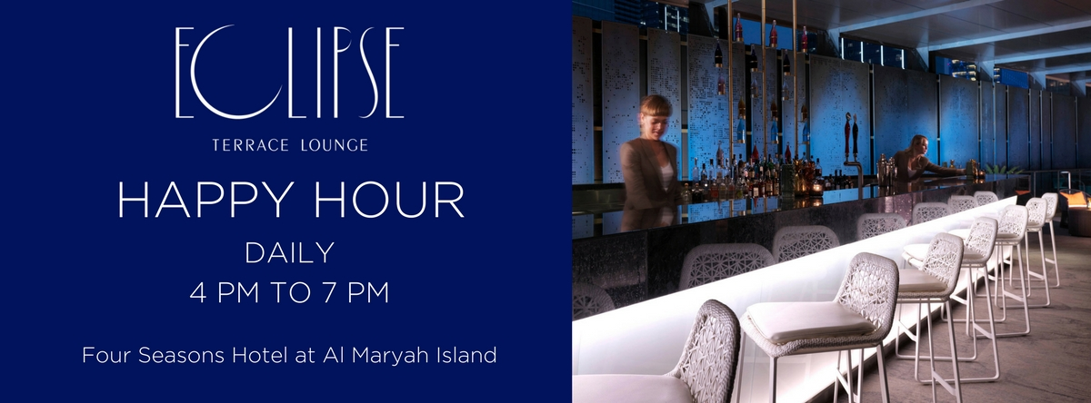 HAPPY HOUR @ ECLIPSE TERRACE LOUNGE