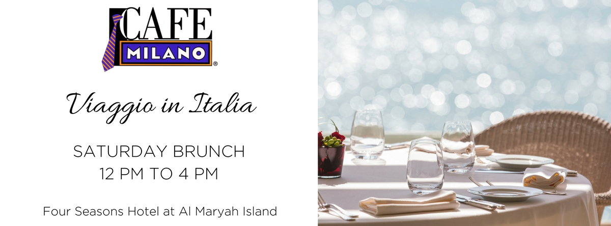 VIAGGIO IN ITALIA BRUNCH  @ CAFE MILANO
