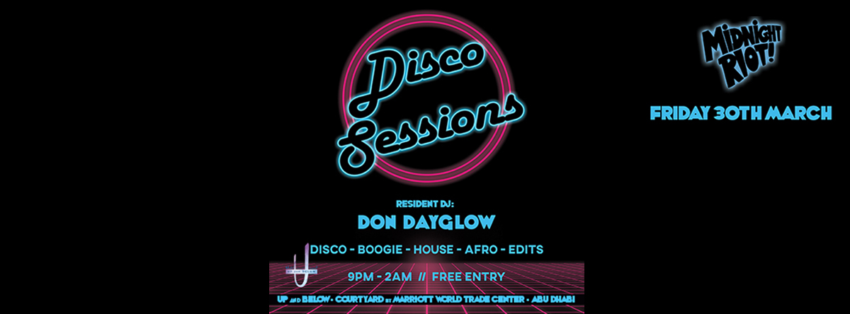 Midnight Riot Disco Sessions @ Up & Below