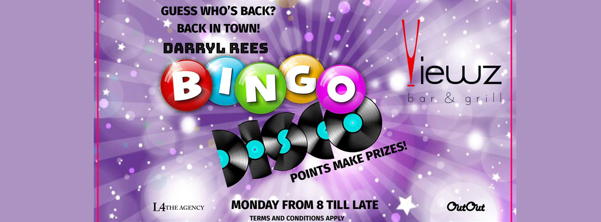 Disco Bingo @ Viewz Bar