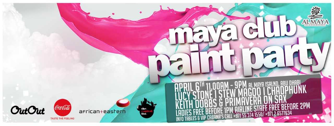 The Paint Party @ Al Maya Island