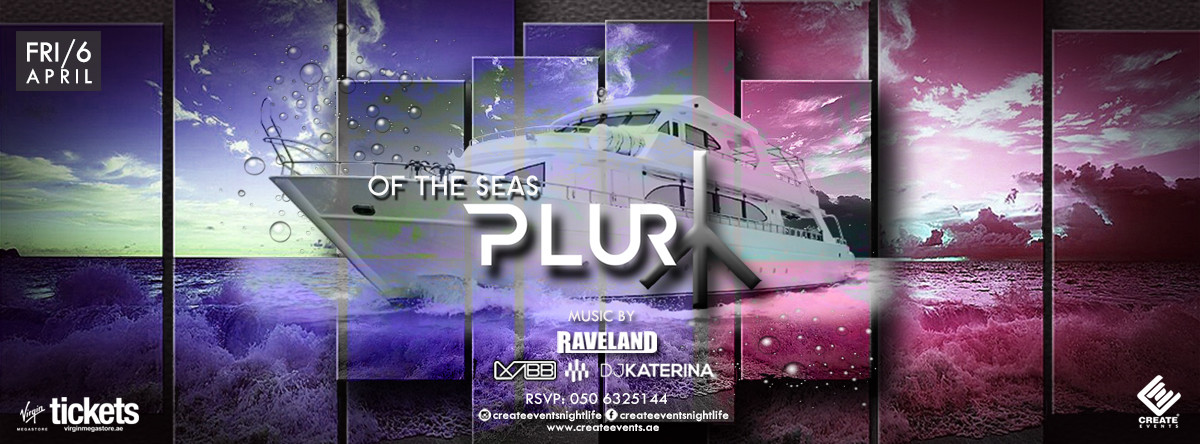 Plur Of the Seas Boat Party