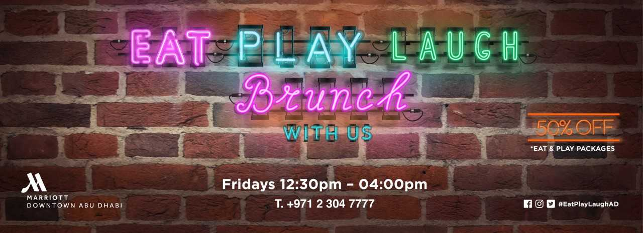 EAT. PLAY. LAUGH. OUTSIDE Brunch @ Marriott
