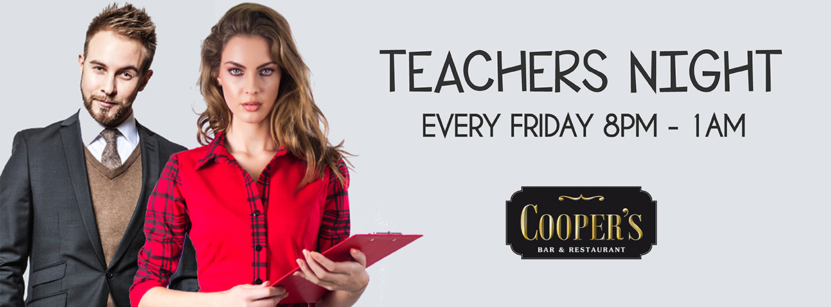 Teachers Night @ Cooper's