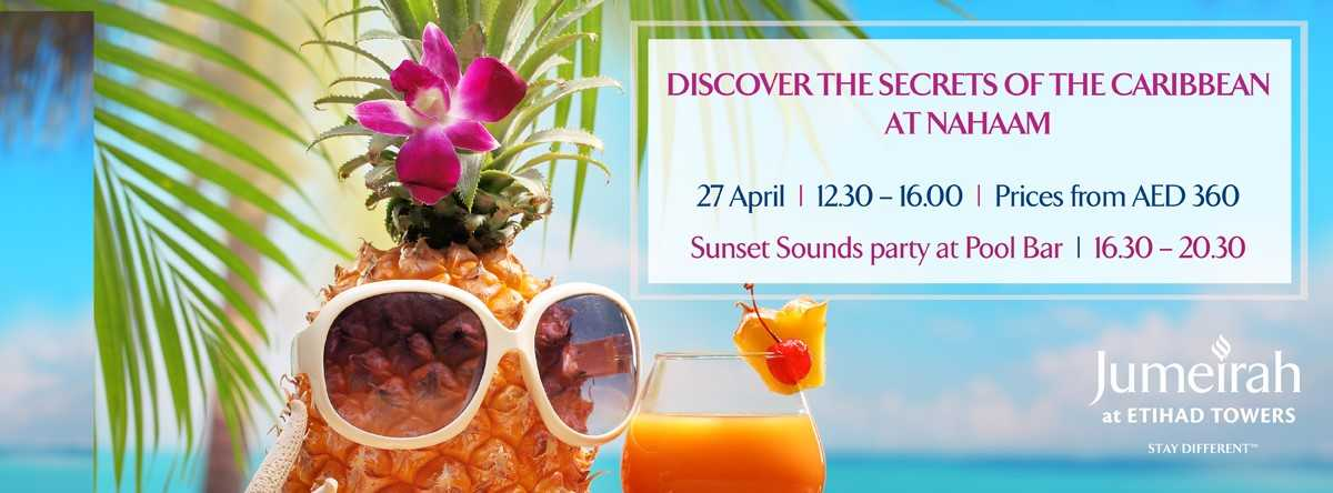 Secrets of Caribbean @ Jumeirah at Etihad Towers