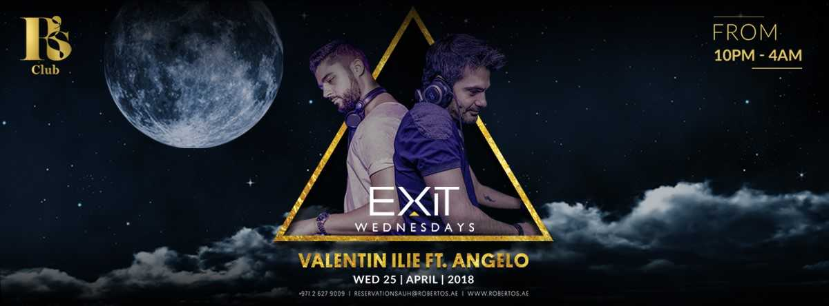 EXIT Wednesdays @ Roberto's Abu Dhabi Lounge