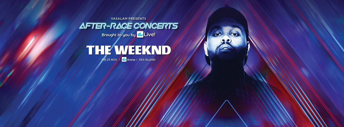 F1 2018 After Race Concert - The Weeknd