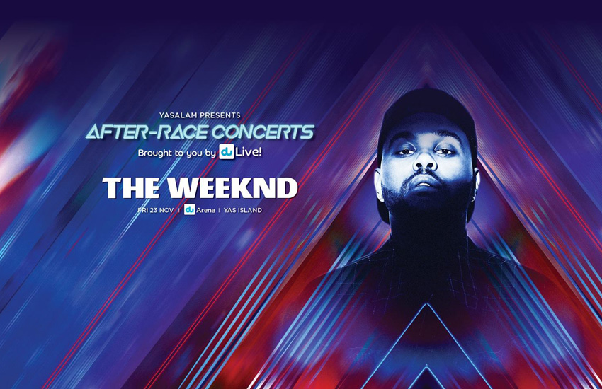 The Weeknd to headline Friday at Yasalam 2018