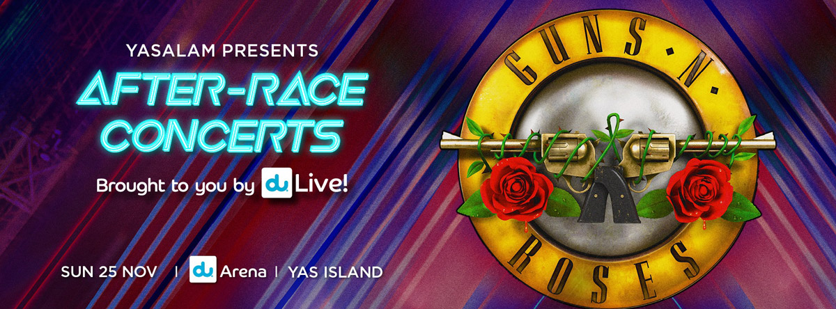 F1 2018 After Race Concert - Guns N Roses
