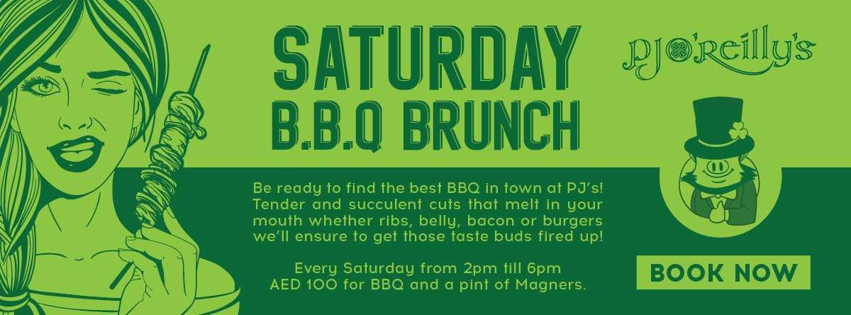 Saturday B.B.Q Brunch @ PJs