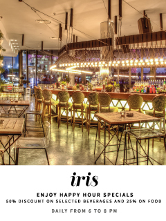 Happy Hour @ Iris Yas Island