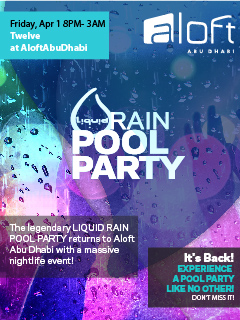 Liquid Rain Pool Party The Return