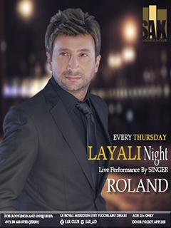 LAYALI NIGHT ft Roland