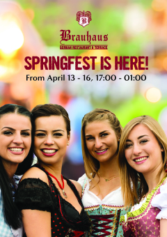 Springfest is here!