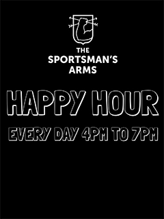 Happy Hour @ The Sportsman's Arms