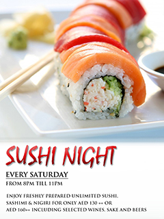 SUSHI NIGHT @ IMAGO Restaurant & Bar