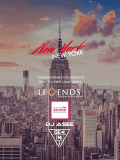 New York @ Legends