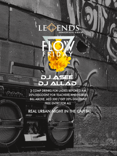 Flow Friday @ Legends