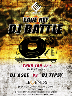 Face Off DJ Battle @ Legends